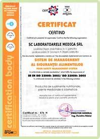 certificato di eccellenza Eco Slim