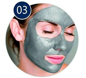 magnetic mask applicata al viso