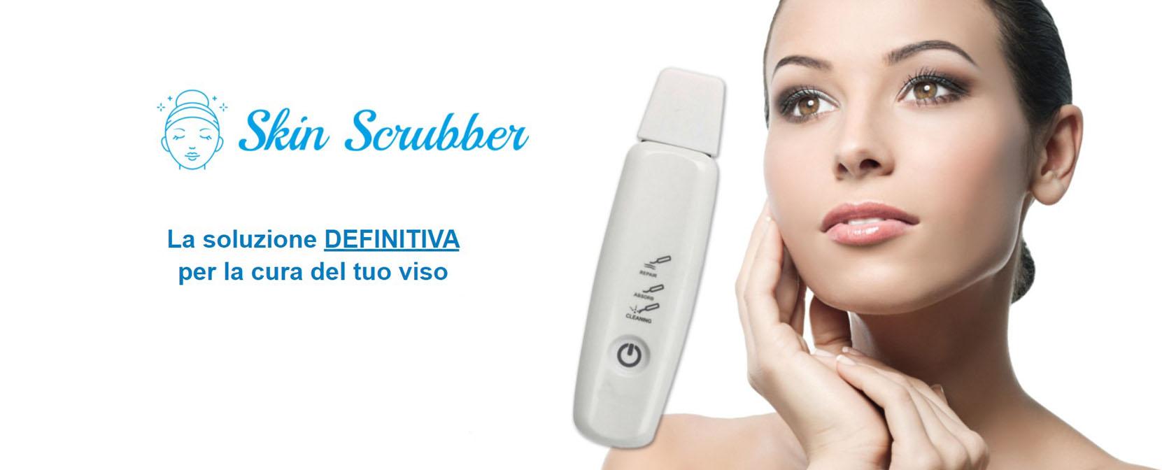 dispositivo pelle viso skin scrubber
