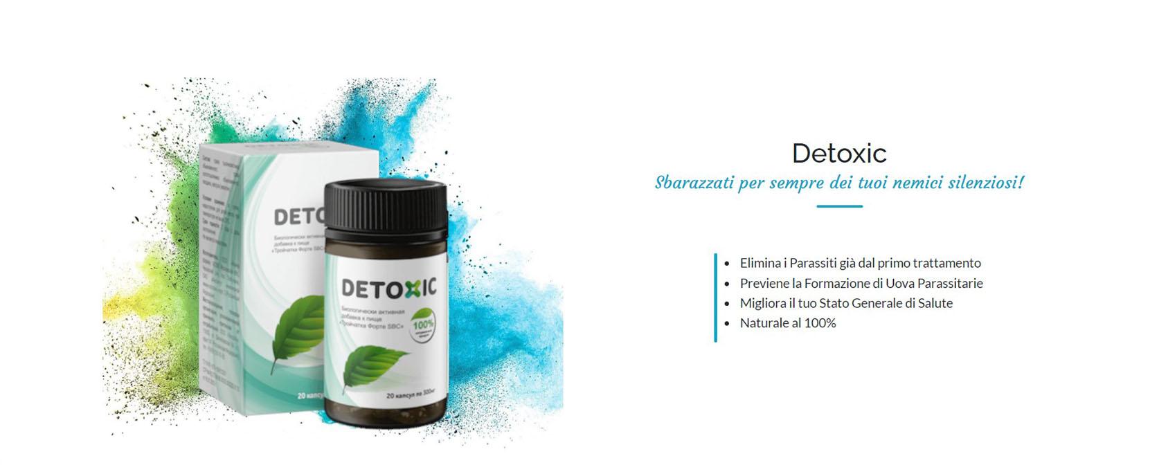 integratore detoxic parassiti