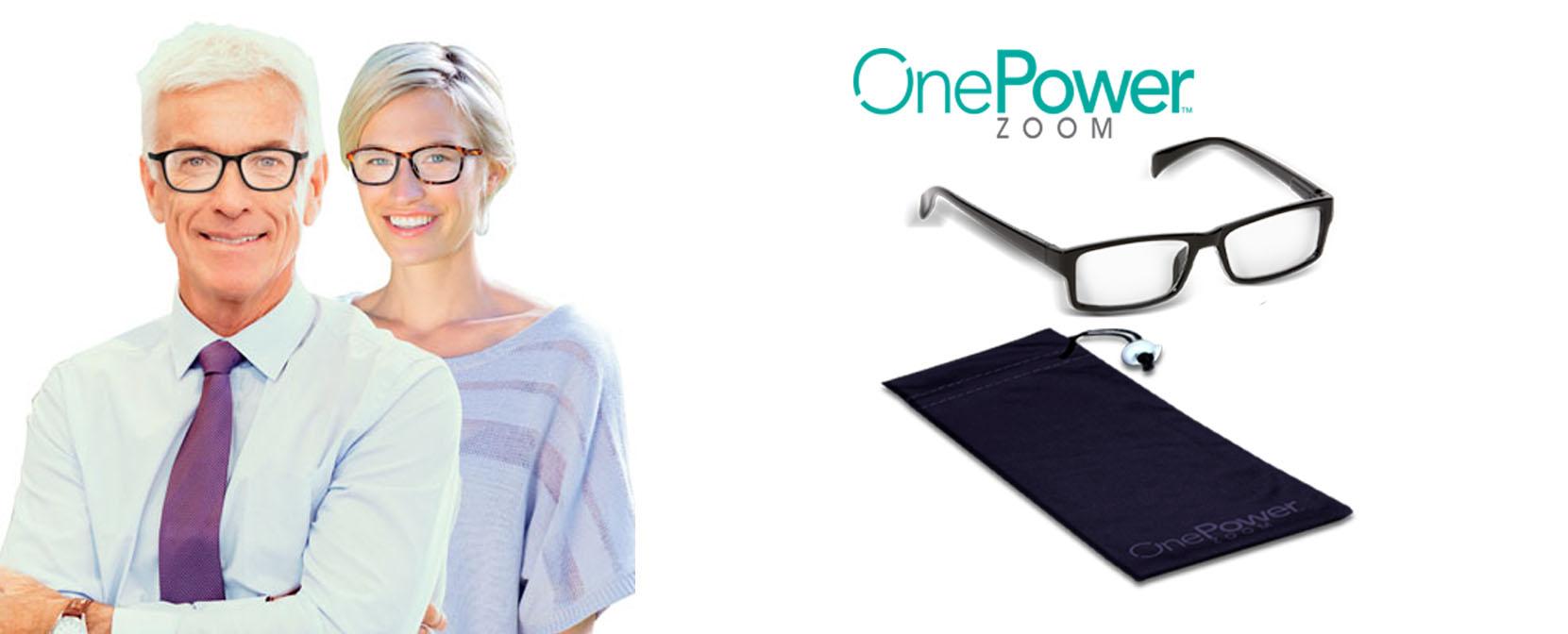 onepower zoom occhiali
