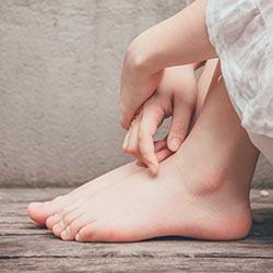 piedi curati senza micosi