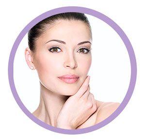 viso pulito post applicazione crema