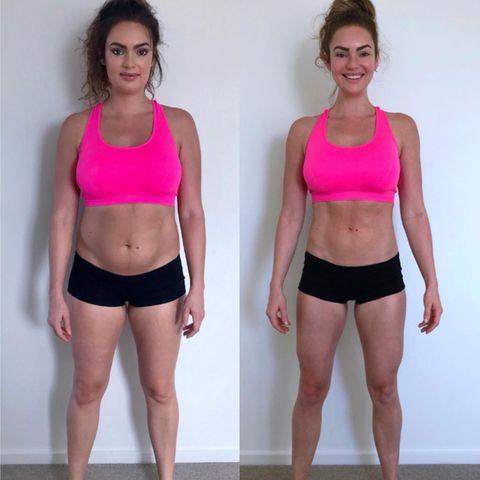 prima e dopo total abs
