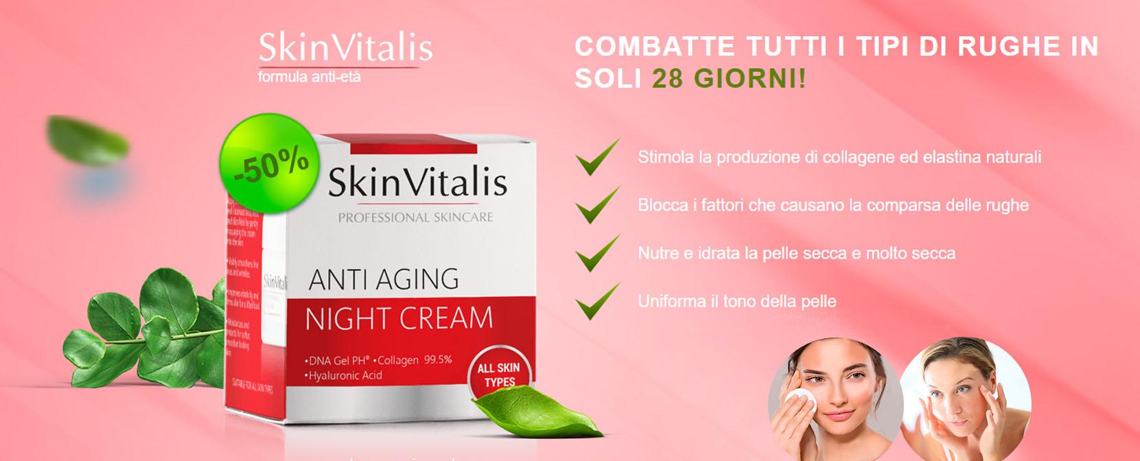 skin vitalis crema antirughe