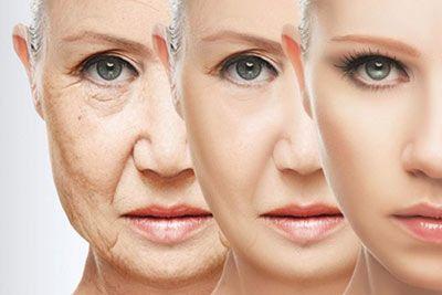 rughe sul volto prima e dopo